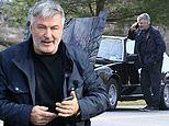 Alec Baldwin's car breaks down amid claims he's at 'separate house from Hilaria over COVID concerns'