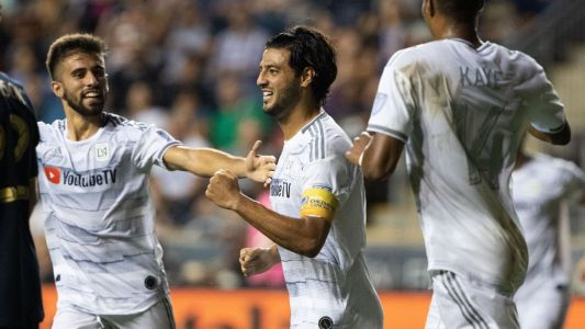 Vela scores in return, LAFC draw with Union