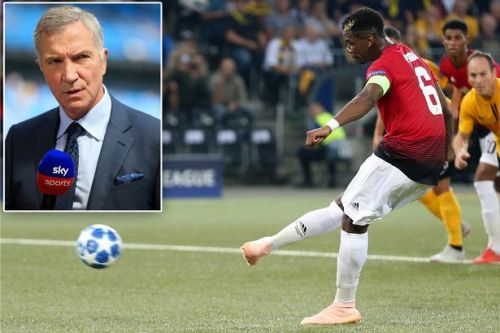 Paul Pogba's attitude questioned by Graeme Souness - who suggests Man United star 'treats football as a joke'