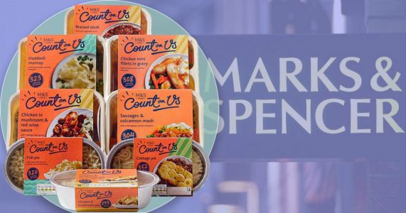 M&S launches first Count on Us food box - with eight low-calorie meals