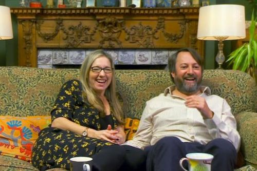 Gogglebox fans call for David Mitchell to stay as he dishes out dating advice
