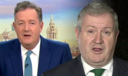 'Why do you want to smash up the UK?' Piers Morgan ERUPTS at Ian Blackford over indyref2