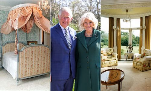Inside Prince Charles' wife Camilla's beautiful private home Ray Mill House