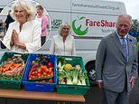 Prince Charles and Duchess of Cornwall visit Asda distribution centre in Bristol