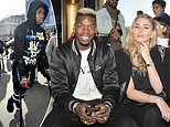 Pogba arrives in Paris on crutches after ankle surgery while his team-mates prepare for Liverpool