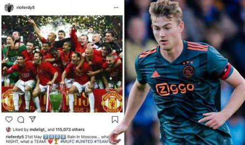 Man Utd news: Matthijs de Ligt likes Rio Ferdinand post on Instagram amid transfer links