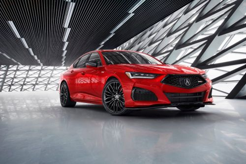 Acura's new TLX luxury sedan will cost thousands less than BMW and Mercedes Benz's closest competitors - take a look at the redesigned 2021 model