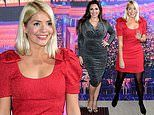 Holly Willoughby attends Emma Bunton's star-studded Christmas Party