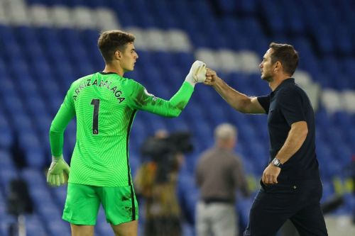 Frank Lampard hits out at 'unfair' Kepa Arrizabalaga criticism and provides Edouard Mendy update ahead of Tottenham clash