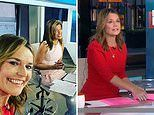 Coronavirus US: Savannah Guthrie returns to the Today studio after two weeks of working from home