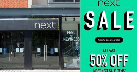 Next's 50% off sale starts on Thursday - with the promise of even bigger discounts
