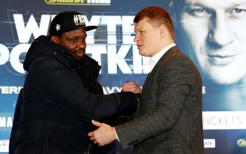 Whyte vs Povetkin 2: When is the fight, what TV channel is it on and what are the latest odds?