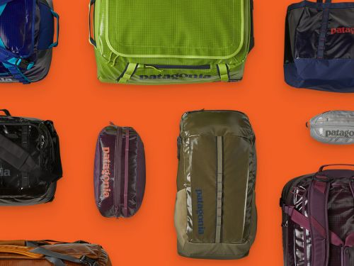 Patagonia turned 10 million recycled plastic bottles into the next generation of Black Hole bags - they're still spacious, durable, and water-resistant