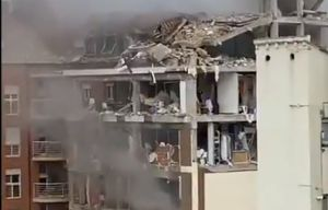Madrid explosion - Massive blast rocks city as video shows destroyed buildings
