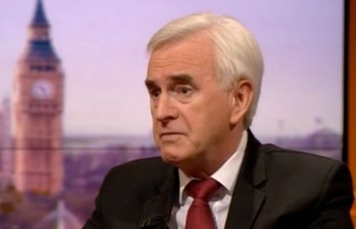 John McDonnell Concedes Anti-Semitism Allegations Could Hurt Labour's Election Chances