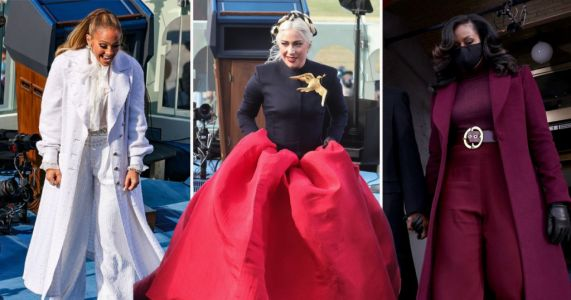 Joe Biden inauguration: Lady Gaga, Michelle Obama and Jennifer Lopez stun in symbolic outfits