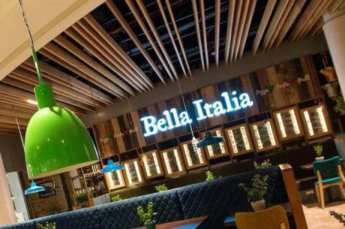 Bella Italia and Cafe Rouge jobs blow with 1,900 posts axed