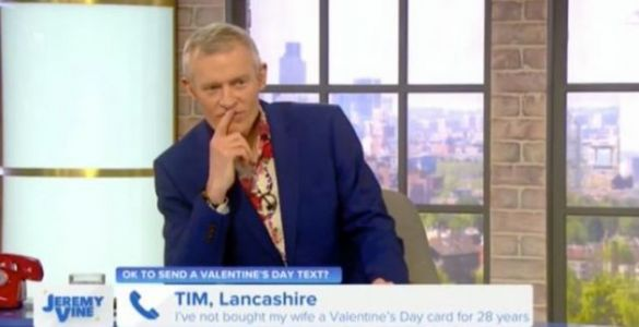 Jeremy Vine Branded A 'C***' By Caller Live On His Channel 5 Show