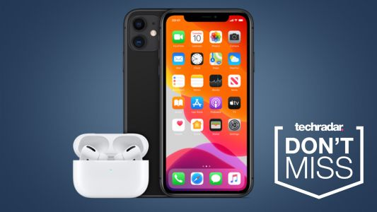 Tesco Mobile is throwing in free AirPods with iPhone deals in its Christmas sale