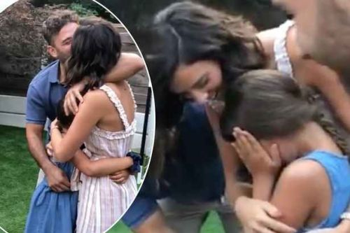 Ryan Thomas' daughter Scarlett breaks down in TEARS as she finds out Lucy Mecklenburgh is pregnant in adorable video