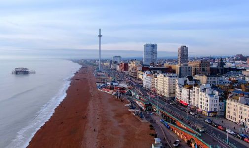 East Sussex: Body found on Hove beach in search for missing kayaker