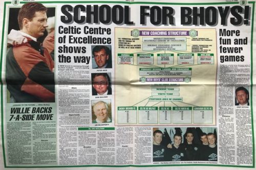 Celtic View club structure article to be used as sex abuse compo case evidence