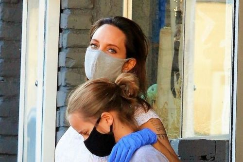 Angelina Jolie seen for first time in months as she goes shopping with daughter