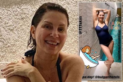 Sadie Frost looking fab at 54 as she details top tips for looking good over 50