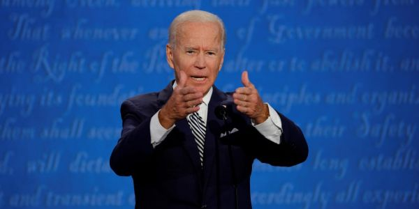 Biden calls Trump a 'racist' as they clash over Black Lives Matter protests and race relations during the first presidential debate