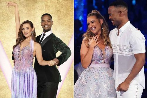 Catherine Tyldesley's Strictly bid backed by family glitter balls and sequins