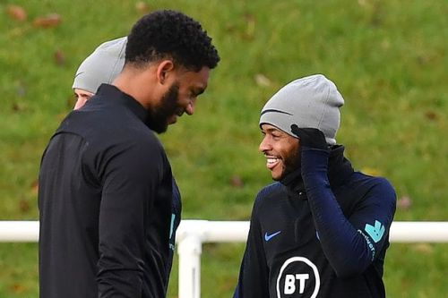 Joe Gomez asked Gareth Southgate not to punish Raheem Sterling over canteen bust-up