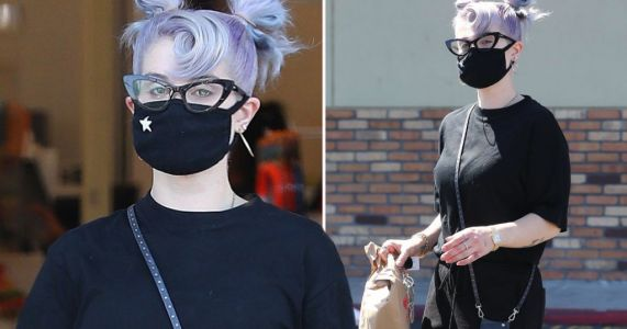 Kelly Osbourne spotted leaving pharmacy in Los Angeles after showing off 'six stone' weight loss