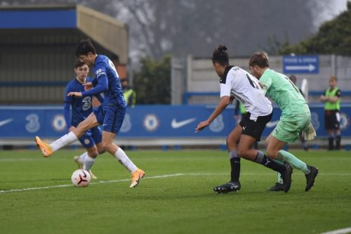 Tino Anjorin stakes latest first-team claim as Chelsea U23s thump Manchester United