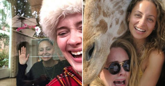 Adele shares hilarious moments with bestie Nicole Richie in belated birthday message