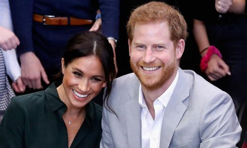 Prince Harry and Meghan Markle's new website unveiled