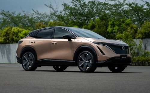 New Nissan Ariya is a pure-electric SUV with up to 310 miles per charge