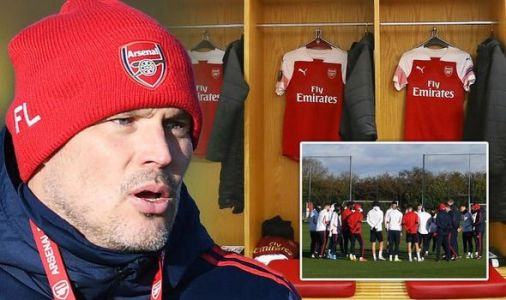 Arsenal boss Freddie Ljungberg to hold pre-Man City talks with squad over Emirates unrest