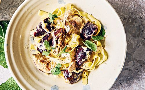 Fig tagliatelle recipe
