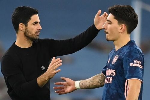Arteta and Bellerin agree on what Arsenal were missing against Crystal Palace