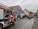 12 people hurt as car drives into crowd at German carnival