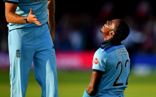 Jofra Archer faces Ashes fitness race as England cricket crosses fingers for its new World Cup hero