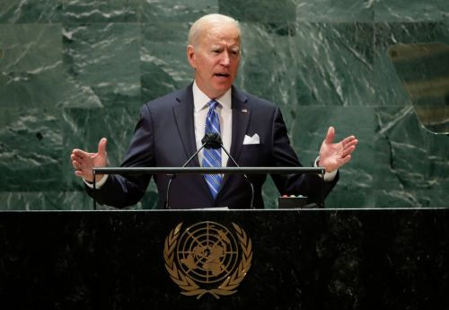 Joe Biden speech today LIVE - President giving address at United Nations after announcing Covid travel ban will end