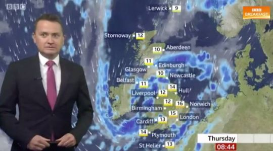 BBC Breakfast's Charlie Stayt Throws Weather Presenter Matt Taylor Under The Bus Ahead Of Rick Astley Interview