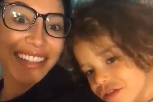 Glee's Amber Riley posts tear-jerking video of Naya Rivera singing with son
