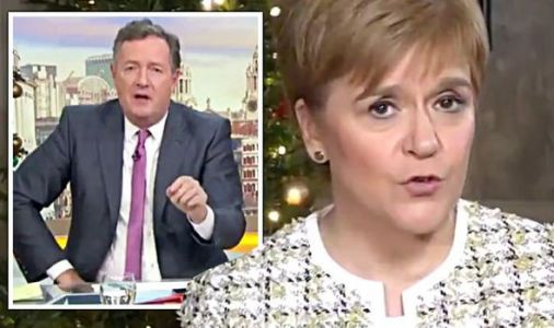 'I'm NOT going to be in a coalition' Sturgeon LOSES temper as Morgan skewers her on Corbyn