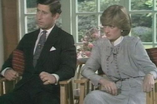 Final five seconds of Princess Diana's wedding interview were worrying warning