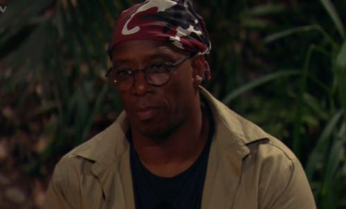 I'm A Celebrity's Ian Wright and Andrew Maxwell clash over crocodile feet - and the footballer got a bit snappy