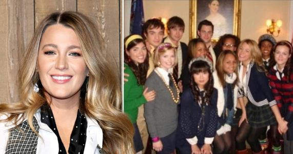 Blake Lively shares incredible Gossip Girl behind-the-scenes throwback