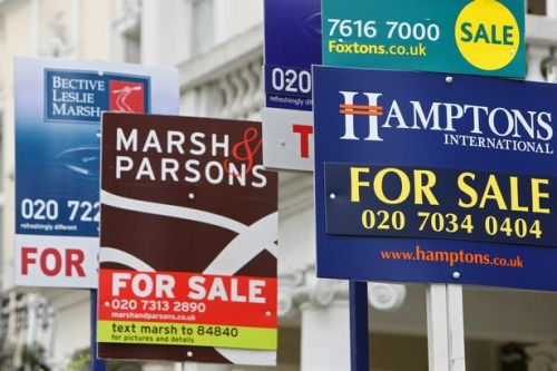 House prices fall for third straight month as coronavirus hits property market