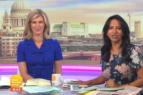 Kate Garraway forced to explain secret meeting with Prince William and Kate